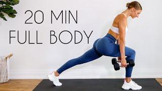 20 min FULL BODY BURN Workout At Home (Tone & Sculpting Fat Burn)
