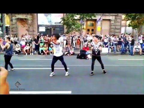 Уличные танцы, Киев, Крещатик новое часть 3 - Street Dance, Kiev, Khreshchatyk new part 3