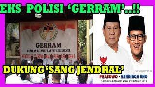 GERAM!! DEKLARASI PENSIUNAN POLISI IKUTI JEJAK 'JENDRAL', DUKUNG PRABOWO SANDI!!