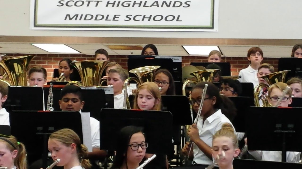 2018 Spring Band Concert - Scott Highlands Middle School