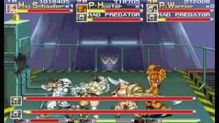 Alien vs. Predator [The Arcade Game] (3-player Playthrough - pt.3)
