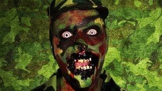 Zombie Soldier - (BIA) Bitten in action - Makeup Tutorial!