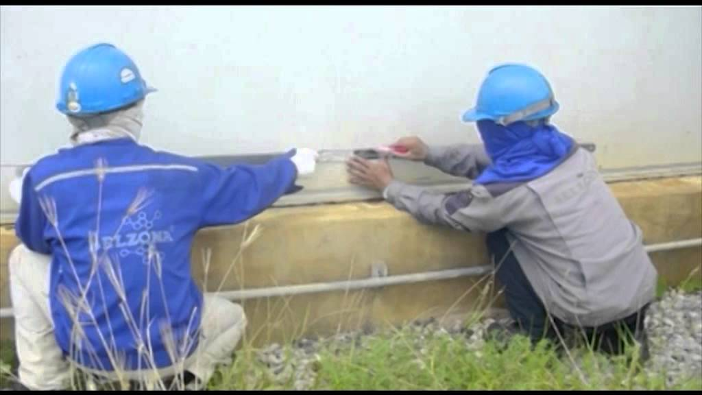 Repair And Protection Of Storage Tanks With Belzona Youtube