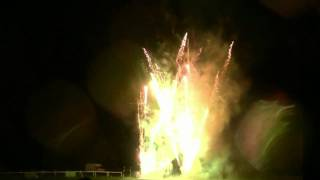 Children's fireworks display at Thornbury Round Table's Family Fireworks Fiesta