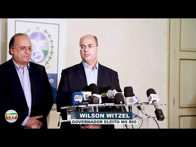 WILSON WITZEL E PEZÃO REALIZAM PRIMEIRA REUNIÃO DE TRANSIÇÃO E COLETIVA DE IMPRENSA