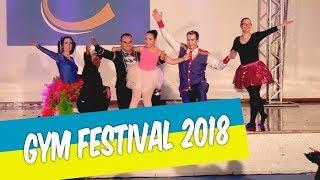 GYM FESTIVAL 2018 TEVE COMO TEMA A ARTE CIRCENCE