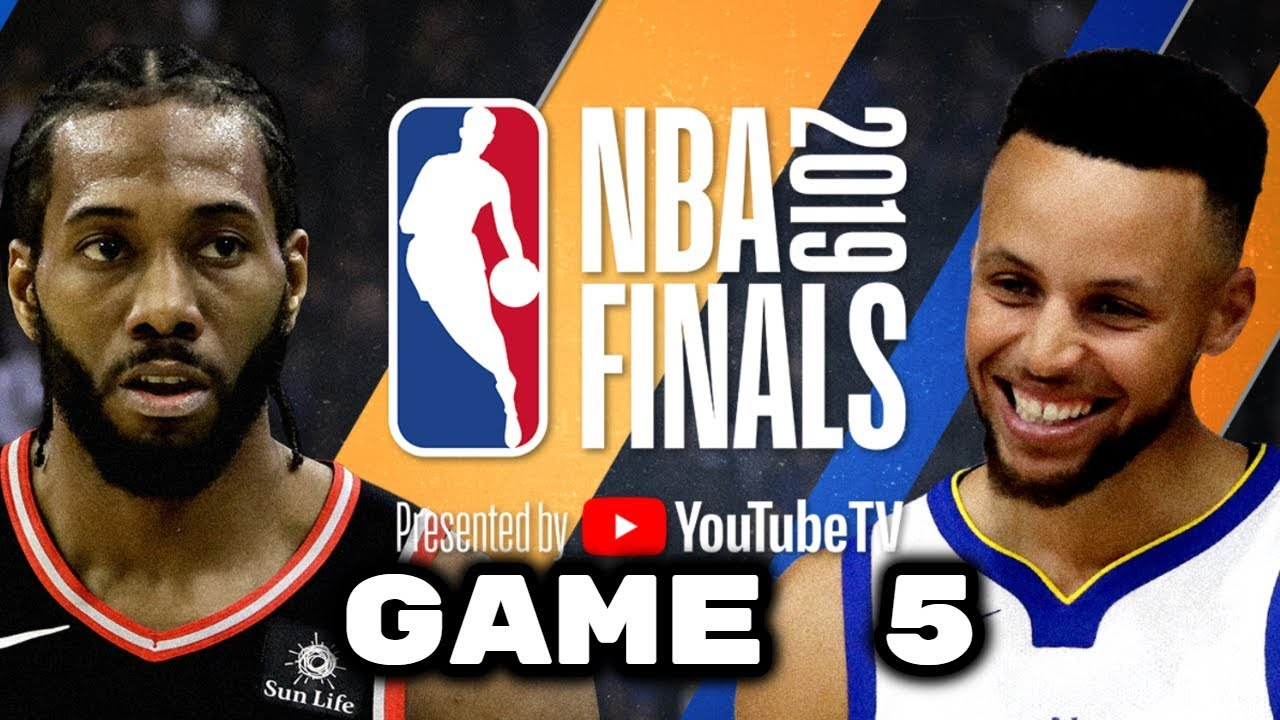 NBA FINALS GAME 5: Toronto Raptors vs. Golden State Warriors June 10, 2019 | 2k19 Gameplay