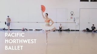 Don Quixote Act 3 - Kitri Variation ft. Carrie Imler (Pacific Northwest Ballet)