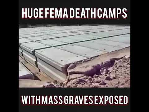 HUGE FEMA DEATH CAMPS WITH MASS GRAVES EXPOSED | The Matrix Malfunction