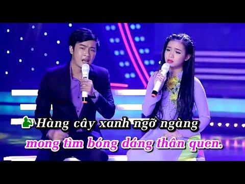 [KARAOKE] Đường Tím Bằng Lăng - Thiên Quang ft Quỳnh Trang
