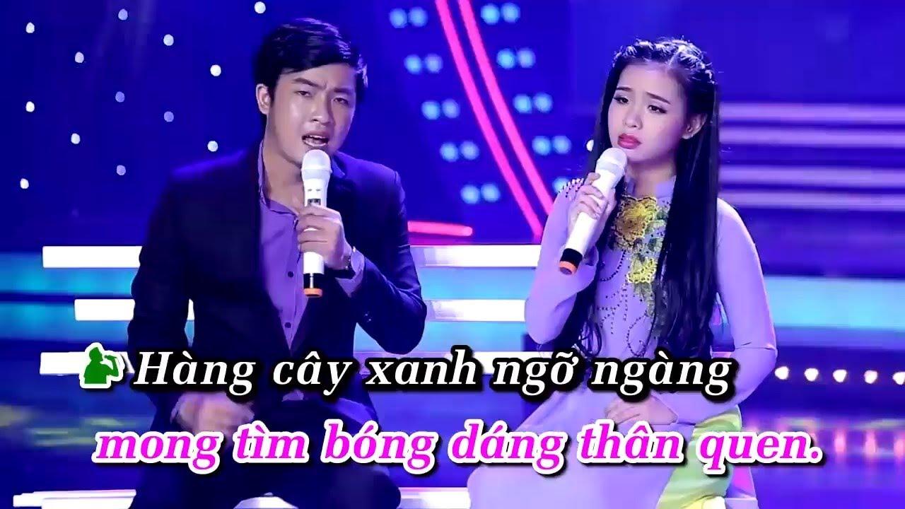 Download [KARAOKE] Đường Tím Bằng Lăng - Thiên Quang ft Quỳnh Trang