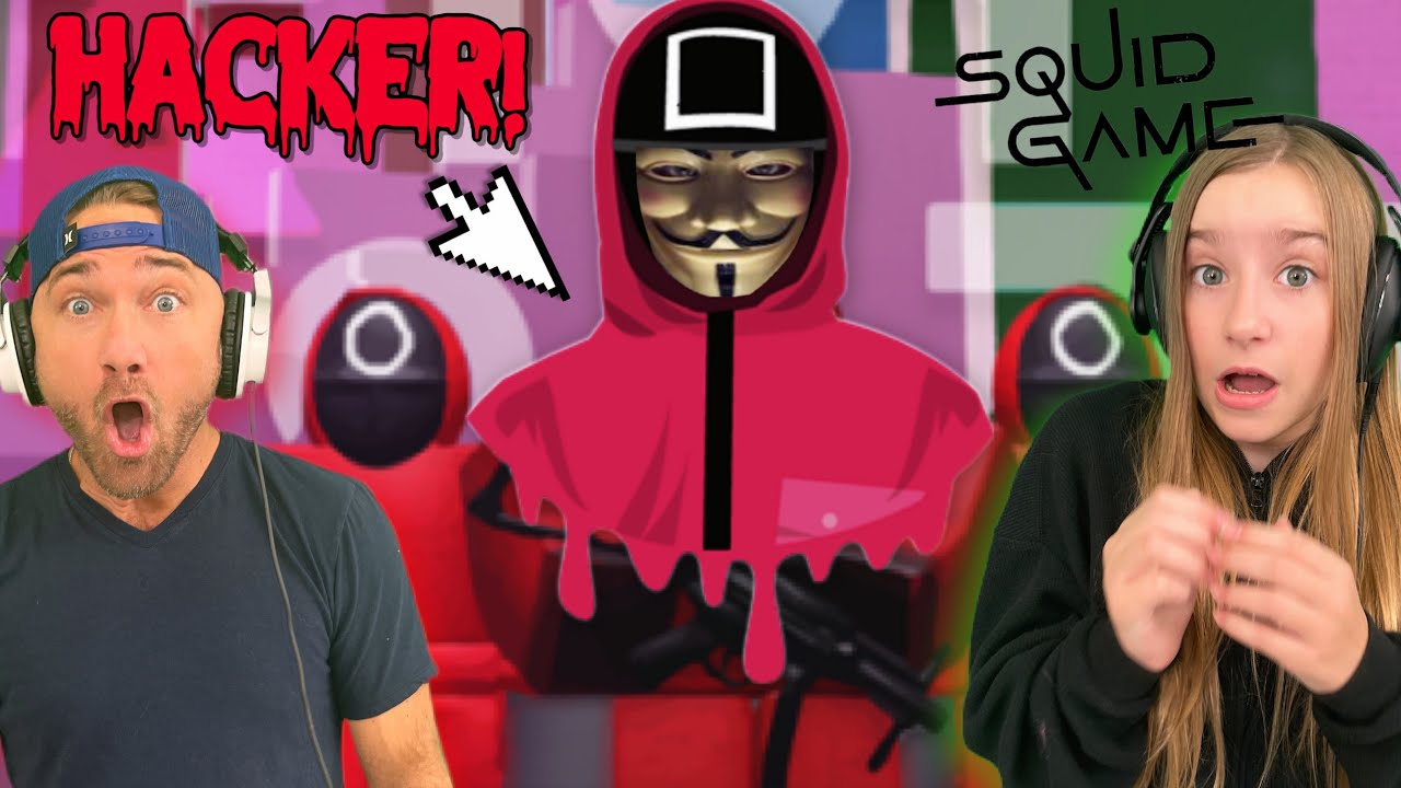 Download A Creepy Hacker Joins Our Server in ROBLOX SQUID GAME