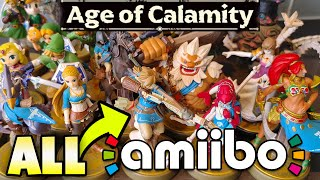 The Secret Unlockables From All Zelda Amiibo In Hyrule Warriors Age Of Calamity Youtube