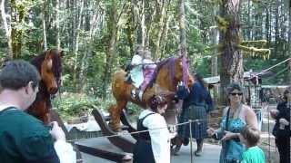Life Size Rocking Horses