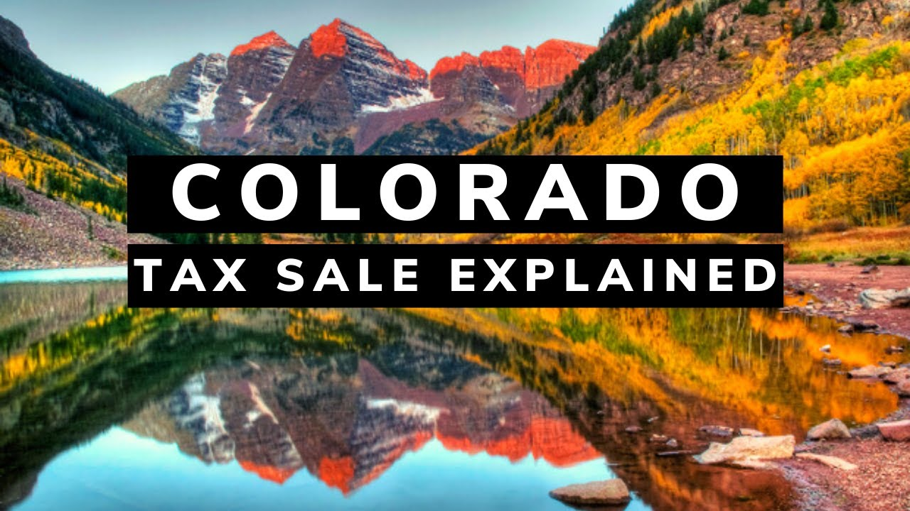 Colorado Tax Lien Certificates Auction Investing Tutorial Youtube