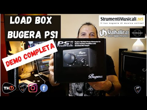 Marshall Jcm2000 Tsl100 Bugera Ps1 Power Soak Demo Completa Youtube