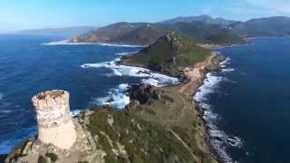 Parrot Bebop drone & Skycontroller 800m in corsica