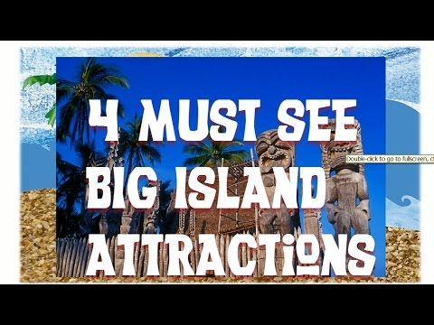 4 Must Visit Big Island Hawaii Attractions