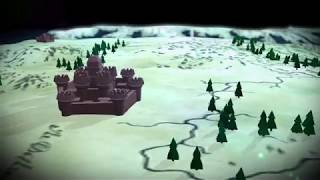 Анимация карты в стиле Игры Престолов (Cinema 4D)