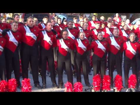 Illinois State University-Big Red Marching Machine: 10-08-16, Homecoming-ISU Fight Song & Alma Mater