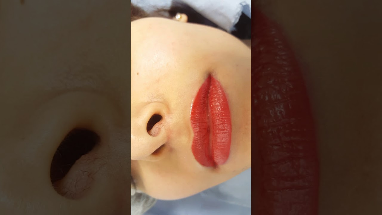 Lips Permanent Makeup Micropigmentation by El Truchan @ Perfect Definition
