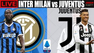 INTER MILAN vs JUVENTUS Live Stream Derby d Italia Serie A Football Watch Along