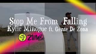 Kylie Minogue - Stop Me From Falling ft. Gente De Zona Zumba Choreo By Cesar Moquete