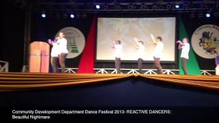cdd dance festival 2013 reactive dancers