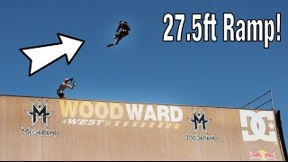 CAMP WOODWARD MEGA RAMP!