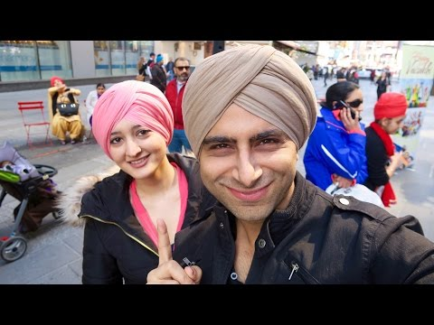 TURBAN DAY IN TIME SQUARE, NYC - SIKH CULTURE
