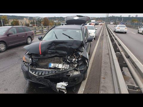 Volvo Crash. Volvo XC70 Vs Audi A4. Volvo For Life