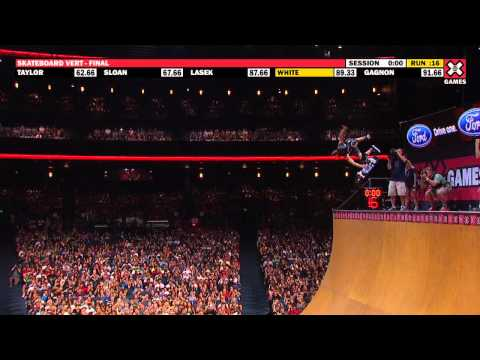 X Games 17: Shaun White takes Gold in Skateboard Vert Final