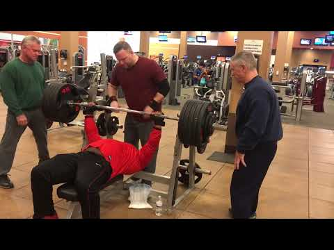 Chad 525 pound bench press