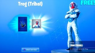 NEW! *FREE* SKIN/STYLE UNLOCKED..! (Vines Contrail) Fortnite Battle Royale