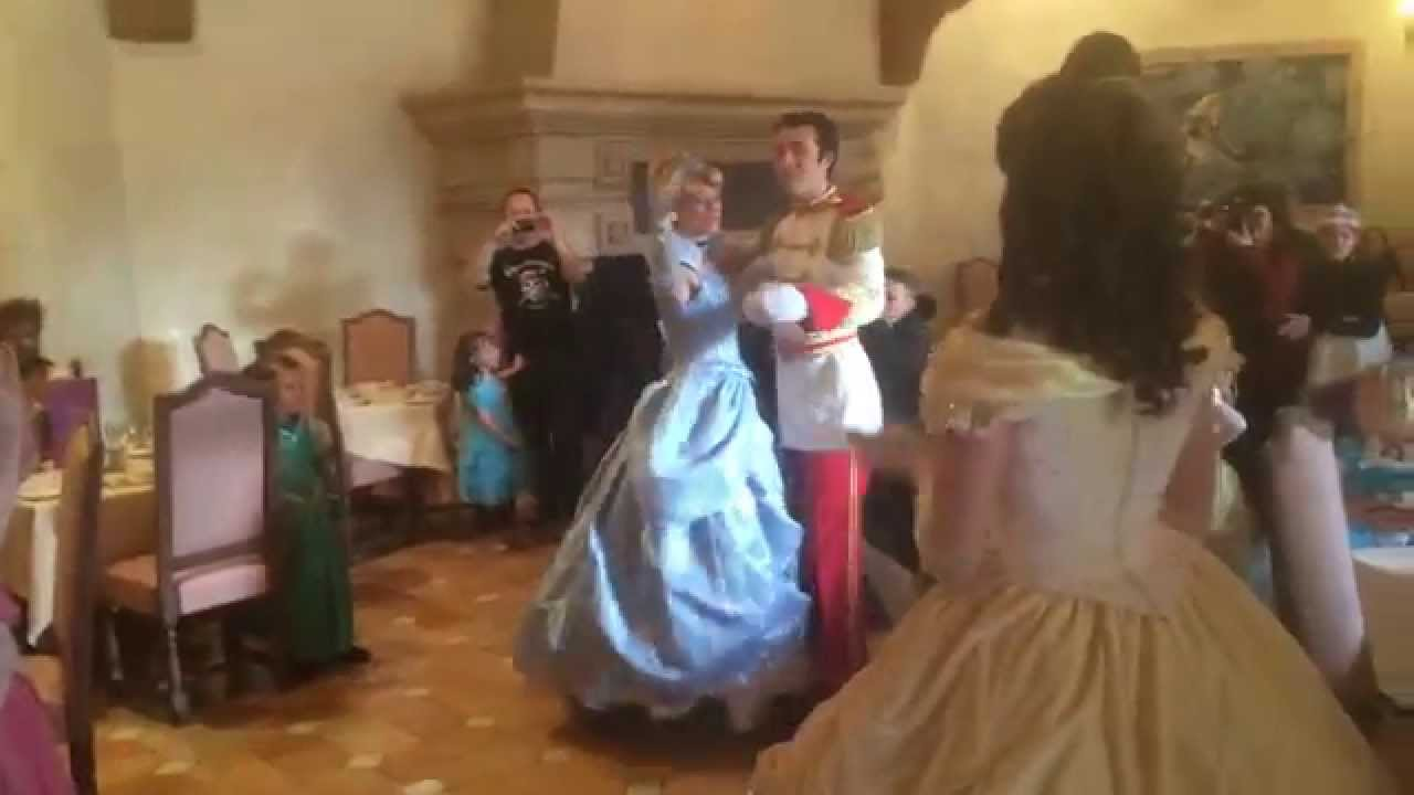 Belle And The Prince Dancing
