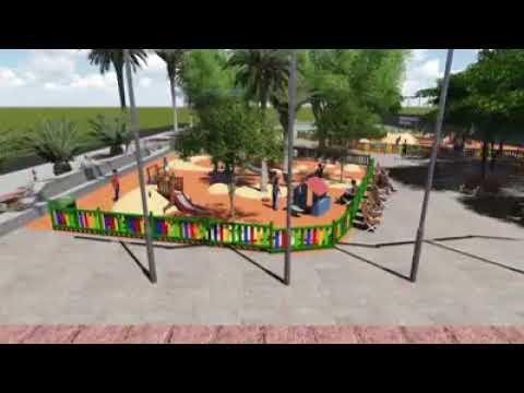 Así quedará el parque Paulino Suances Romín de Las Galletas