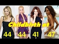 Famous Hollywood celebrity mothers who had childbirth after 40 Part 1