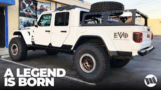 "Jeep Gladiator Truck WAYALIFE Build EVO DTD 40"" Nitto Tires Dana UD60 High Performance Overlander"