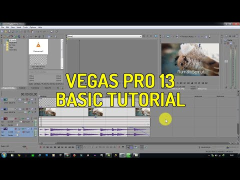 Sony Vegas Pro 13: How To Zoom In And Out Slowly - Tutorial #58.