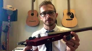 Розпакування НС дизайн WAV5 5 рядок електричний Скрипка