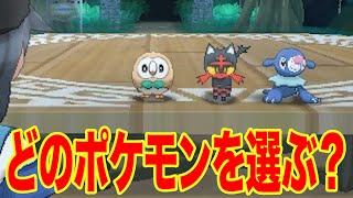 【ポケモン サン・ムーン】最初のパートナーはこの3匹!モクロー、ニャビー、アシマリってどんなポケモン?