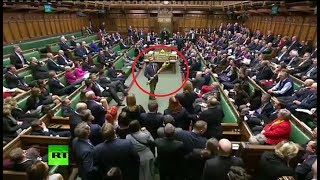 Courtesy: UK Parliament TV An MP was kicked out of the House of Com...