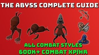 Abyss Combat & Invention Training Guide! [Runescape 3] 600k+ Xp/hr
