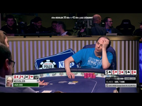2017 WSOP Europe Event #6 - Pot-Limit Omaha