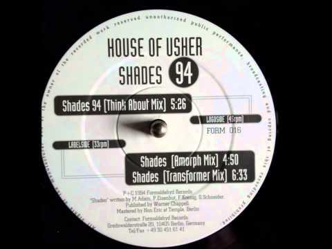 House of Usher - Shades '94 [Transformer Mix] VINYL