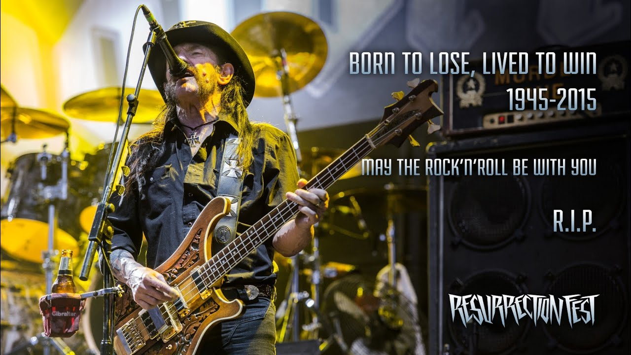 Motörhead - Ace of Spades & Overkill (Live at Resurrection Fest 2015, Last  show ever in Spain)