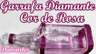GARRAFA DIAMANTE COR DE ROSA