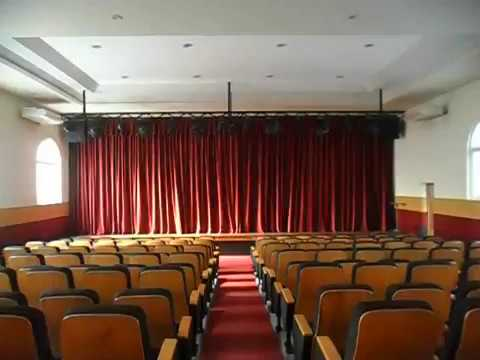Stage curtain by Window Fashions (Pvt) Ltd. University Grant Commission of Sri Lanka