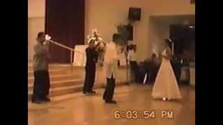 SWELL surprise Sherill w/ one of her favorite songs at their wedding Jan 2000