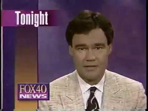 KTXL 1992 Jim Crandell News Promos - Fox 40 Sacramento 80s 90s